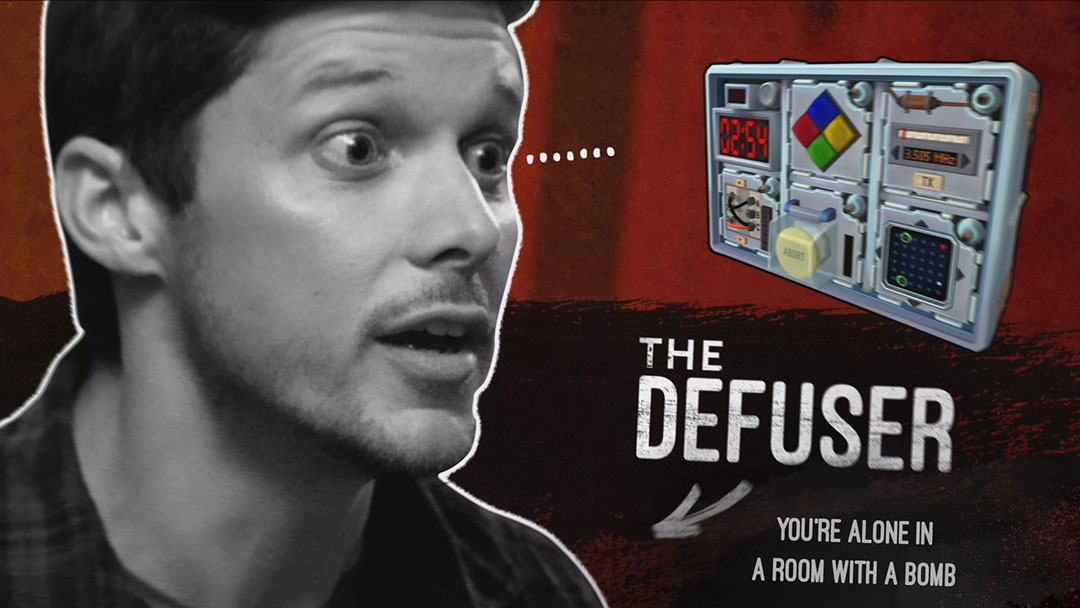 Defusuer is alone in a room with a bomb